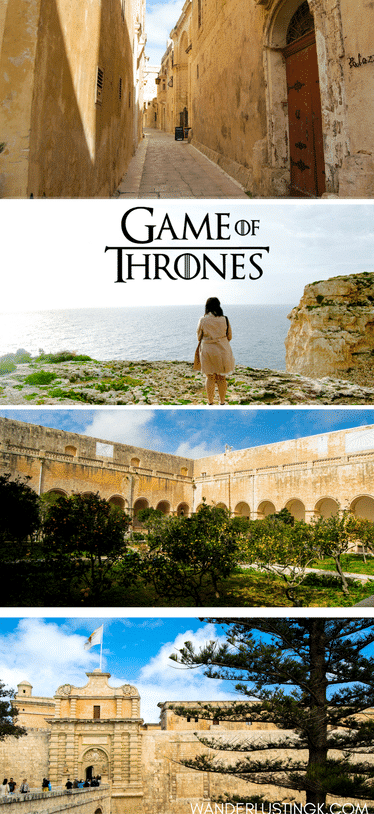 Love Game of Thrones? Read about the Game of Thrones filming locations in Malta and an independent review of the Game of Thrones tour in Malta where you tour the Game of Thrones shooting locations! #GameofThrones #GOT #Malta #Europe