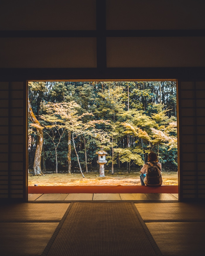 Photo of girl near Koto-in temple in Kyoto, one of the most beautiful temples in Kyoto. #travel #asia #japan #Kyoto