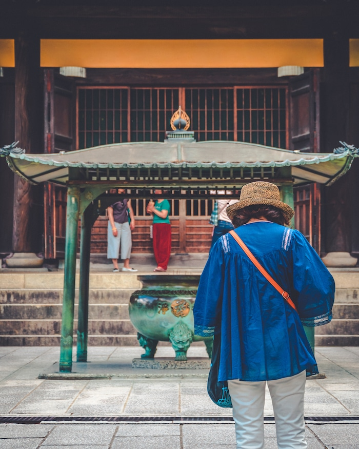 Photo of the Nanzenji temple in Kyoto, one of the Zen temples in Kyoto! See more tips about the best places to visit in Kyoto. #travel #asia #kyoto #japan #zen